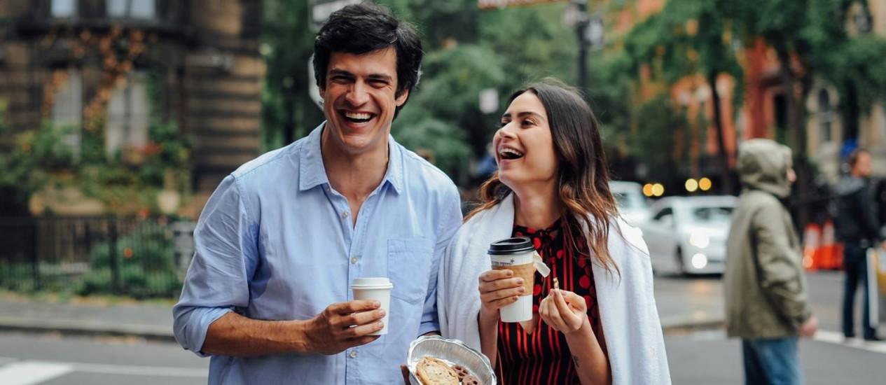 Cena do filme 'Talvez uma história de amor' Foto: Divulgação
