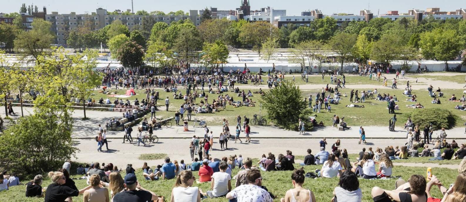 Feira e eventos acontecem no Mauerpark Foto: Andreas Meichsner / Andreas Meichsner