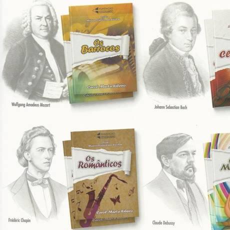 Coleção em quatro volumes da Cesgranrio trará grandes nomes da música clássica Foto: Divulgação