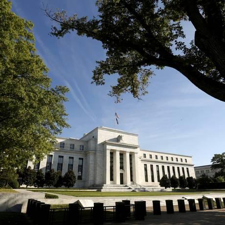 Sede do Federal Reserve (Fed, o banco central americano) em Washington. Foto: Kevin Lamarque/Reuters