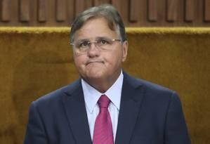 Geddel Vieira Lima, durante reunião no Palácio do Planalto Foto: André Coelho/Agência O Globo/22-11-2016
