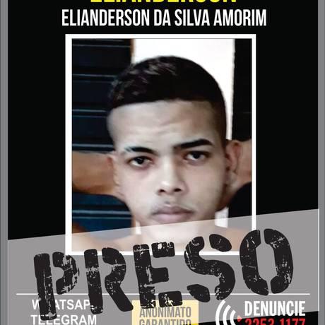 Traficante cearense que foi preso na Baixada Fluminense Foto: Divulgação