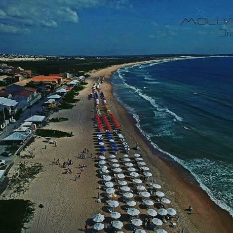 Praia do Peró terá evento no Dia Mundial dos Mares Limpos Foto: Rodrigo Bittencourt / Divulgação