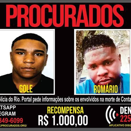 Disque Denúncia pede informações que levem a assassinos de contador no Méier Foto: Divulgação