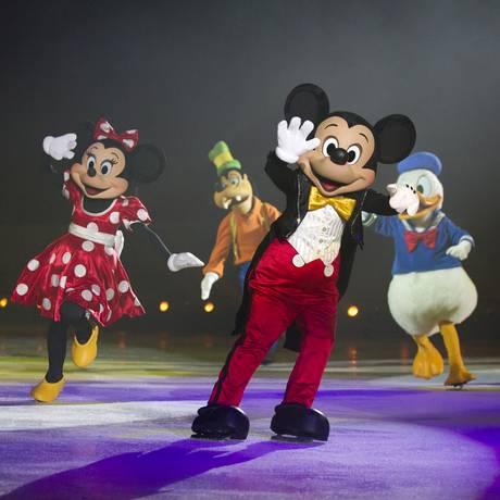 'O Maravilhoso Mundo de Disney On Ice' terá únicas apresentadores na Jeunesse Aren Foto: Feld Entertainment