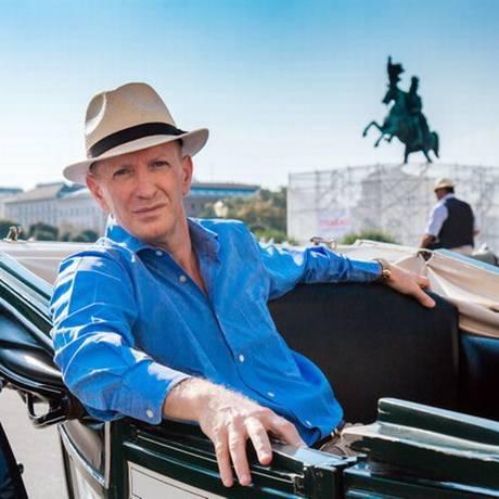 O historiador britânico Simon Sebag Montefiore Foto: Richard Pearson / Divulgação/BBC
