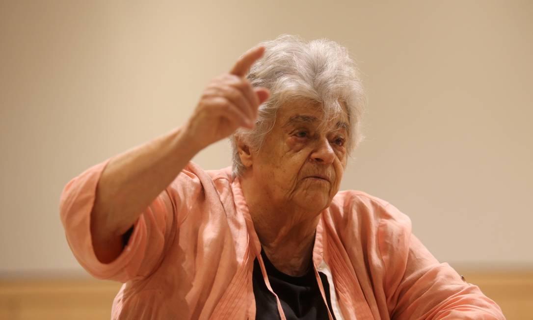 Niède Guidon, 85 anos, luta pelo parque há anos Foto: Freelancer / Agência O Globo