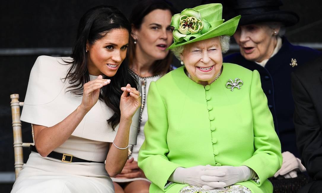 Mais de Meghan e Elizabeth II Jeff J Mitchell / Getty Images