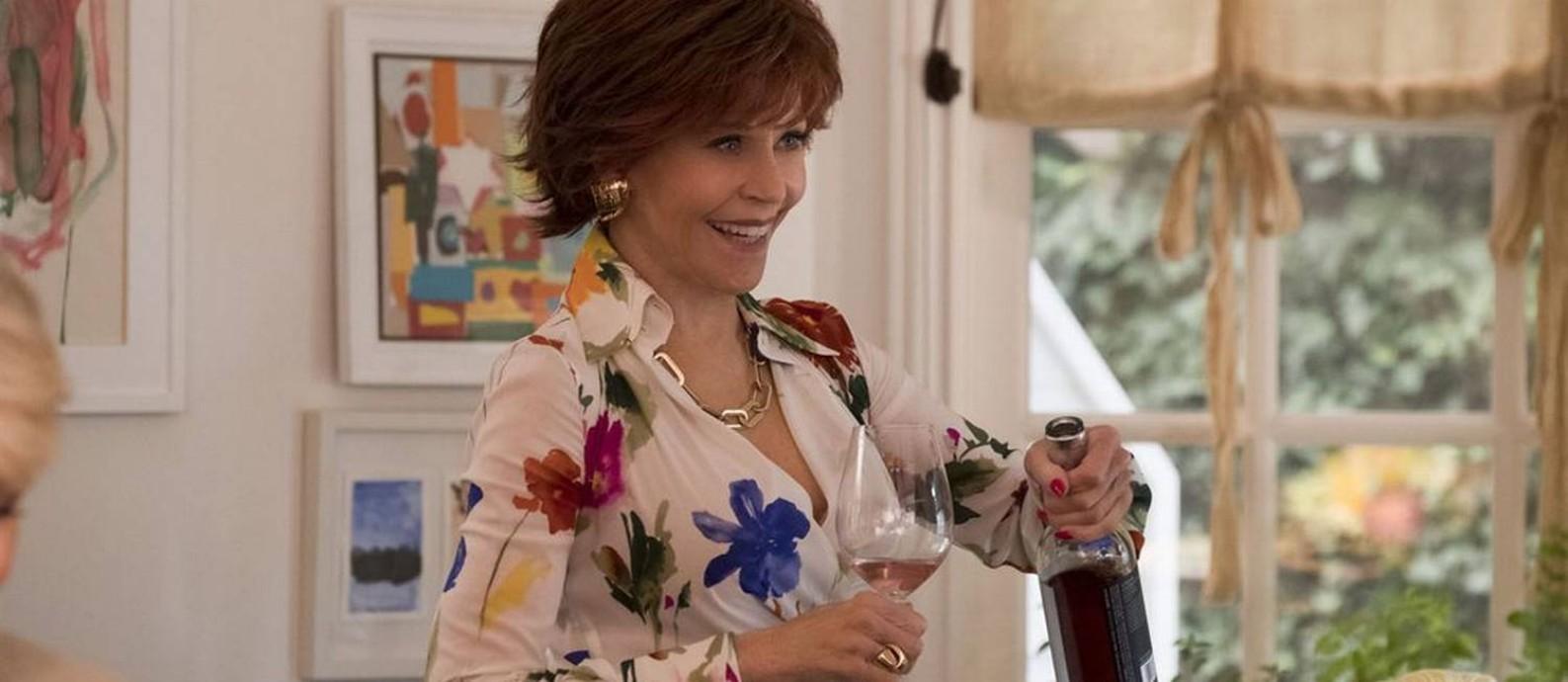 Jane Fonda é uma das superestrelas do filme 'Do jeito que elas querem' Foto: Divulgação