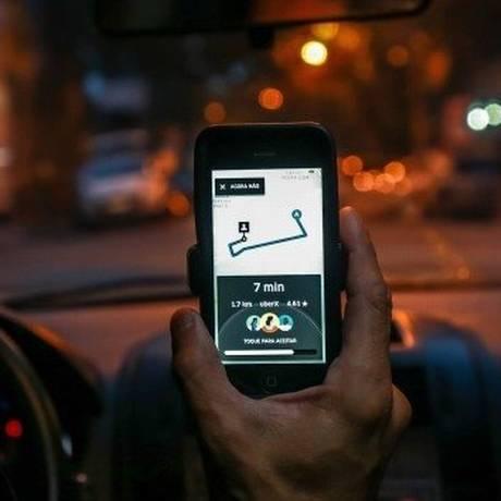 Motorista de Uber ficou sem trabalhar por seis meses Foto: Marcelo Régua - Agência O Globo