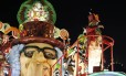 Grande Rio foi uma das duas últimas colocadas no carnaval 2018 Foto: Domingos Peixoto / Agência O Globo