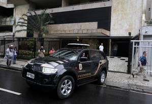 Operação Deja vu cumpre mandado de prisão em prédio no Leblon, no Rio de Janeiro. 08/05/2018 Foto: Fabiano Rocha / Agência O Globo
