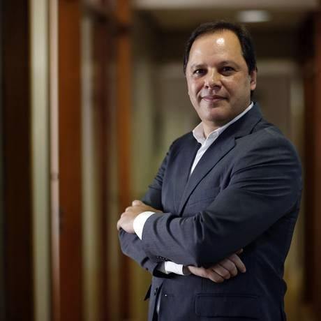 Luiz Armando Bagolin, durante o lançamento do Prêmio Jabuti, no ano passadp Foto: Edilson Dantas / Agência O Globo