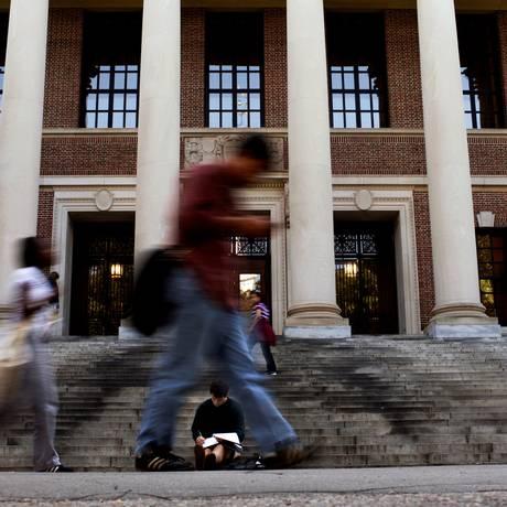 Candidatos acusaram Harvard em 2014 Foto: BRIAN SNYDER / REUTERS