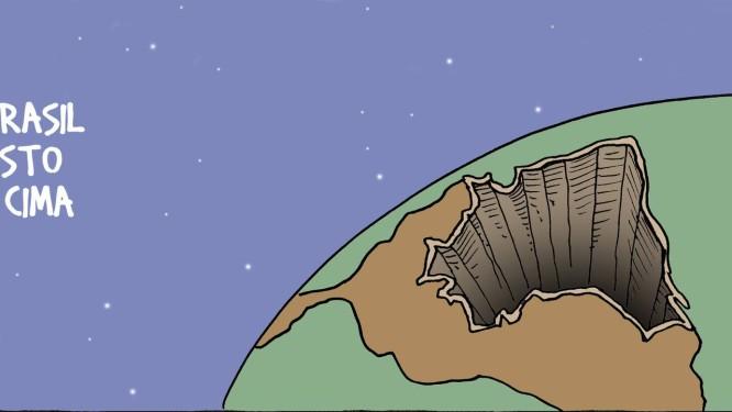 Tirinha do cartunista André Dahmer Foto: André Dahmer