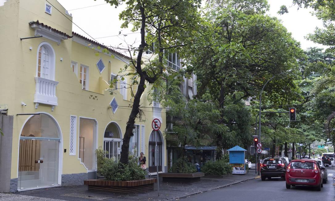 Fachada da Galeria Simone Cadinelli, em Ipanema: inauguração dia 20