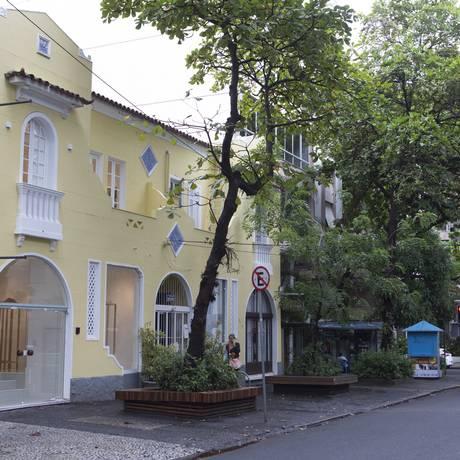 Fachada da Galeria Simone Cadinelli, em Ipanema: inauguração dia 20 Foto: Roberto Moreyra/Agência O Globo