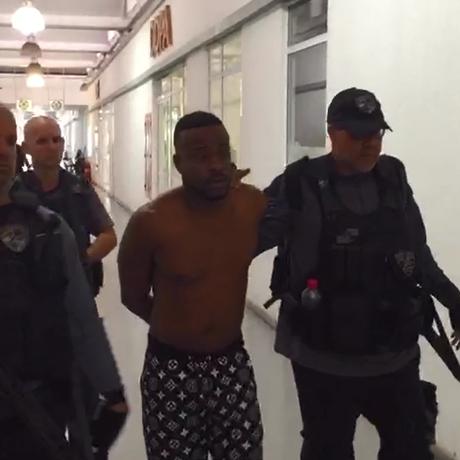 Traficante preso por envolvimento na morte de inspetor da Polícia Civil Foto: Reprodução/Polícia Civil