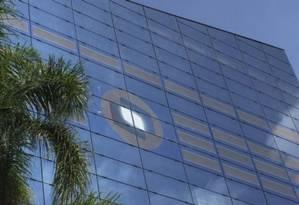 Fachada de prédio em SP tem folhas de captação de energia solar Foto: Divulgação / Divulgação
