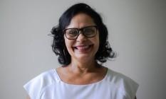 Givanise Alves, de 53 anos é uma das eleitoras de Ciro Gomes Foto: Bruna Justa / Agência O Globo