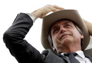O pré-candidato Jair Bolsonaro em 04/04/2018 Foto: Ueslei Marcelino / REUTERS