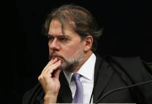 O ministro Dias Toffoli, que irá assumir a presidência do STF em setembro Foto: Givaldo Barbosa / Agência O Globo