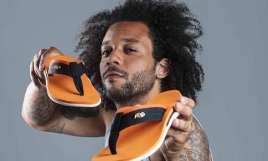 Marcelo cria linha de sandálias Foto: Divulgação