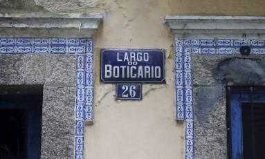 Largo do Boticário receberá hostel com 70 quartos, piscinas, churrasqueiras e espaços de coworking Foto: Domingos Peixoto 27-02-2018 / Agência O Globo