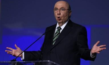 Pré-candidato do MDB à Presidência,Henrique Meirelles 8/06/2018 Foto: Edilson Dantas / Agência O Globo