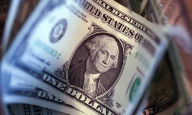 Dólar, a moeda oficial dos Estados Unidos Foto: Chris Ratcliffe/Bloomberg