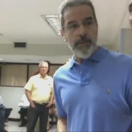 O ex-senador Luiz Estevão Foto: Reprodução / TV GLOBO