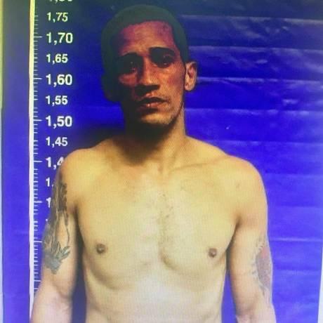 Gerson foi preso num bar em Copacabana Foto: Reprodução