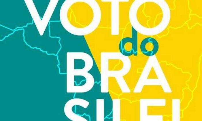 O voto do Brasileiro Foto: Reprodução / Editora Record