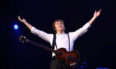 Paul McCartney, em 2011 - Foto Divulgação Foto: Divulgação