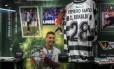 Área dedicada a Cristiano Ronaldo no museu do Sporting de Lisboa Foto: Sporting Clube Lisboa / Reprodução