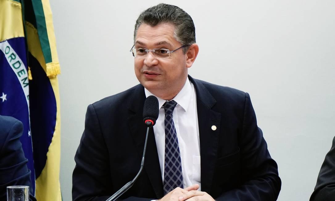 O deputado federal Sóstenes Cavalcante (DEM-RJ) participa de audiência pública na Cãmara Foto: Will Shutter/Câmara dos Deputados/17-10-2017