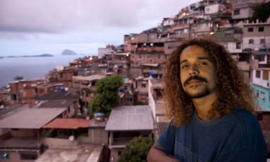 O escritor Geovani Martins, um dos convidados da Flip 2018 Foto: Adriana Lorete / Agência O Globo