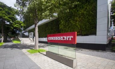 Sede da Odebrecht, no bairro do Butantã em São Paulo Foto: Edilson Dantas - 08/05/2018 / Agência O Globo