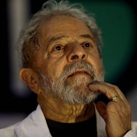 O ex-presidente Lula participa de congresso dos catadores em Brasília Foto: Jorge William/Agência O Globo/13-12-2017