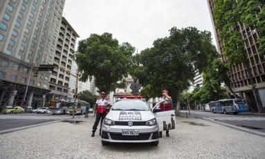 Operacao Seguranca Presente pode perder parte de seu financiamento e deixar de funcionar Foto: Ana Branco / Agência O Globo