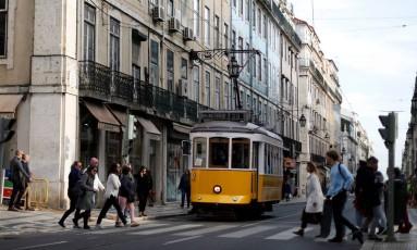 Bonde é marca de Lisboa, capital de Portugal. Foto: Rafael Marchante/Reuters
