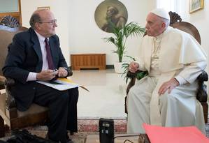 Papa Francisco em entrevista à