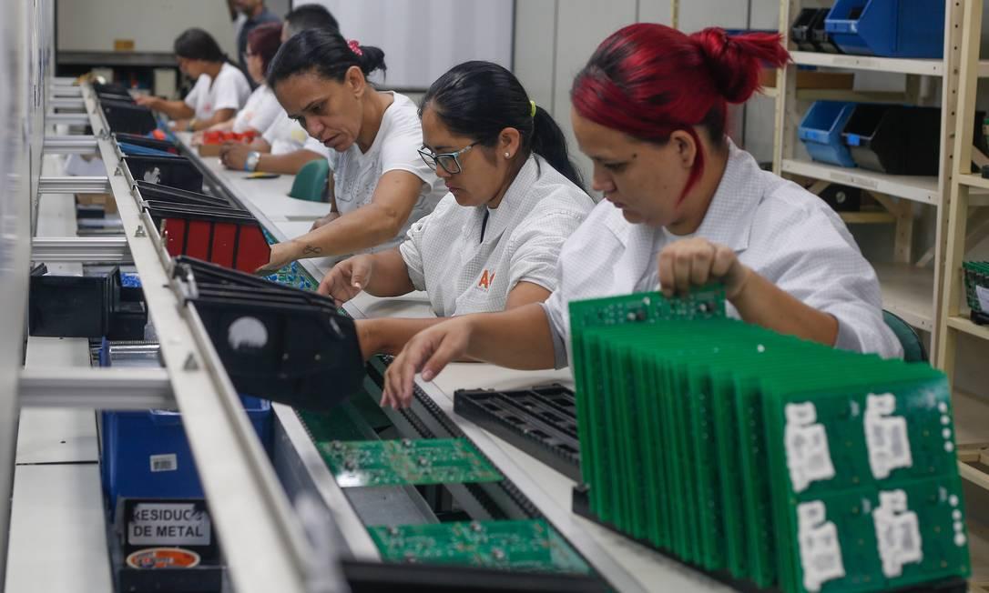 Vale da eletrônica, no Estado de São Paulo Foto: Marcos Alves / Agência O Globo