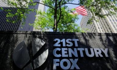 Edifício da Fox em Nova York Foto: Eduardo Munoz/Reuters