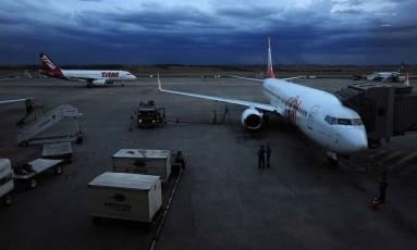 Aeroporto de Confins Foto: Arquivo