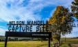 Entrada de musem, em local onde Mandela foi capturado, perto de Durban Foto: Julia Amin