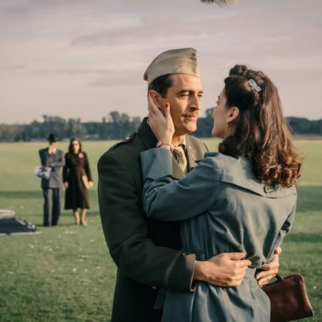 Cena do filme 'Em guerra por amor' Foto: Paolo Ciriello / Divulgação