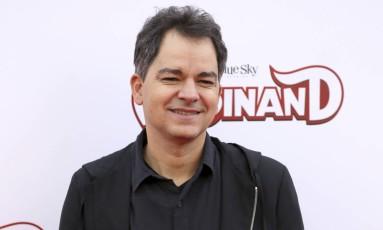 Carlos Saldanha na pré estreia de 'O touro Ferdinando', nos EUA, no ano passado Foto: Willy Sanjuan / Willy Sanjuan/Invision/AP