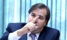 O Presidente da Câmara dos Deputados, Rodrigo Maia (DEM-RJ) 20/06/2018 Foto: Ailton de Freitas / Agência O Globo