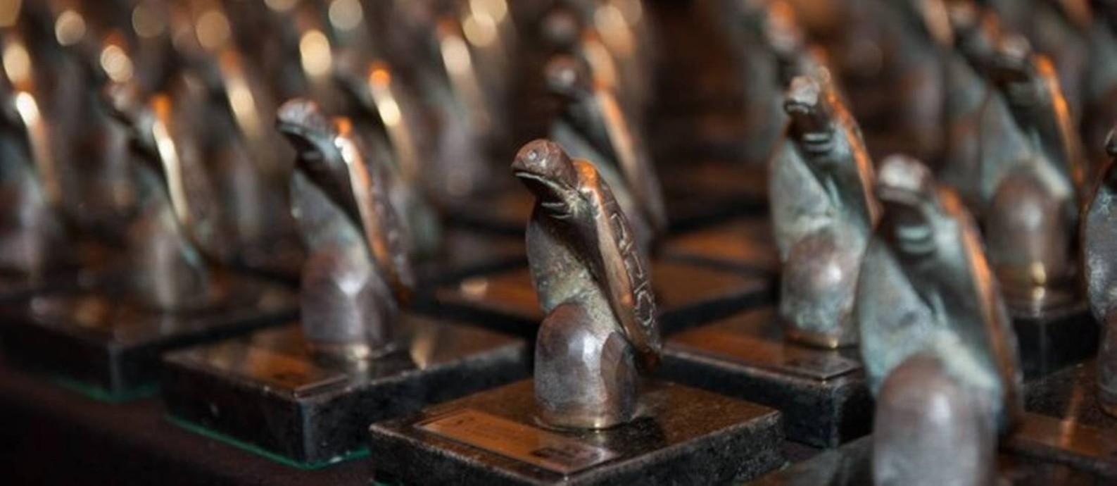 Troféus Jabuti Foto: Divulgação